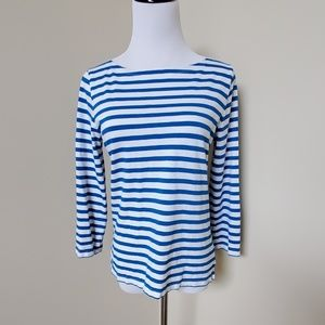 J. Crew Striped T- shirt Top
